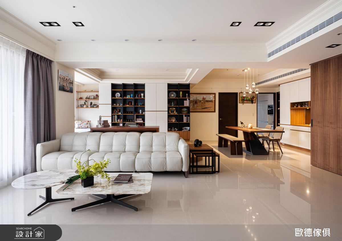 44坪新成屋(5年以下)_混搭風案例圖片_台灣歐德傢俱股份有限公司_歐德_102之4