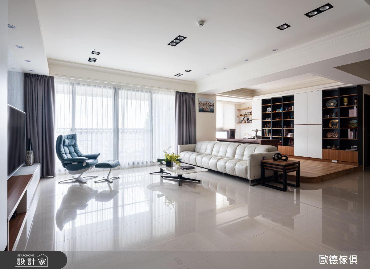 44坪新成屋(5年以下)_混搭風案例圖片_台灣歐德傢俱股份有限公司_歐德_102之3