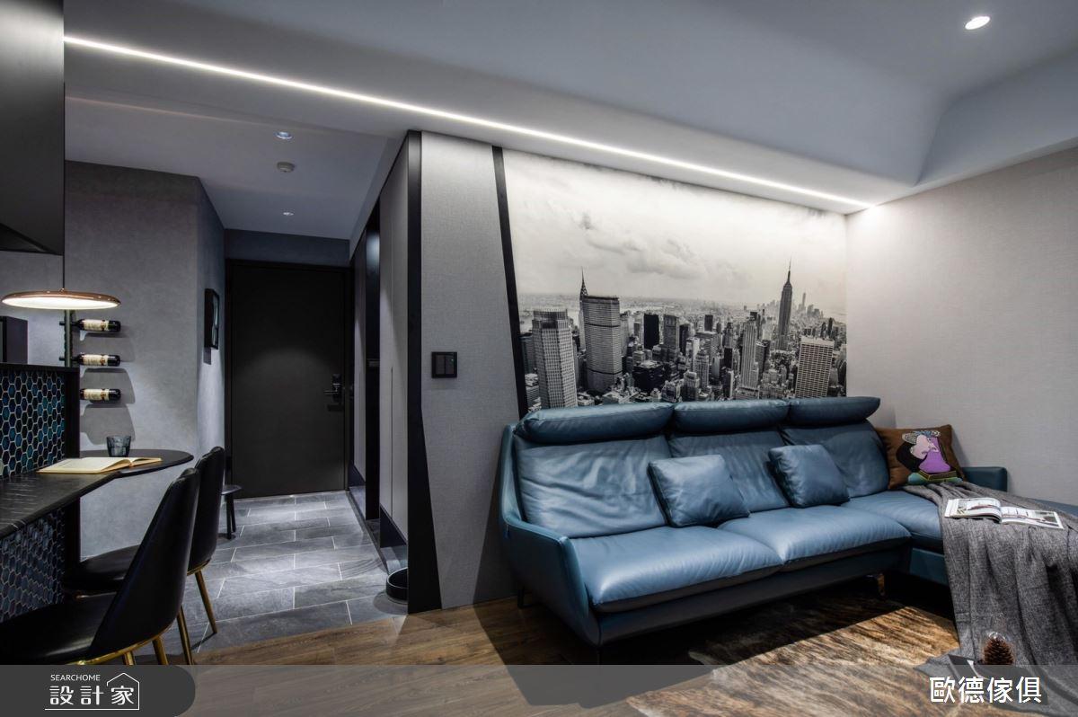 20坪新成屋(5年以下)_現代風客廳案例圖片_台灣歐德傢俱股份有限公司_歐德_104之7