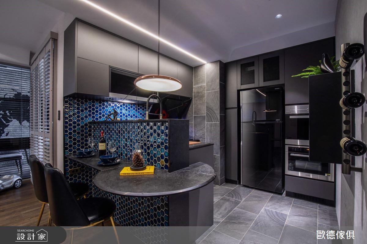 20坪新成屋(5年以下)_現代風餐廳案例圖片_台灣歐德傢俱股份有限公司_歐德_104之12