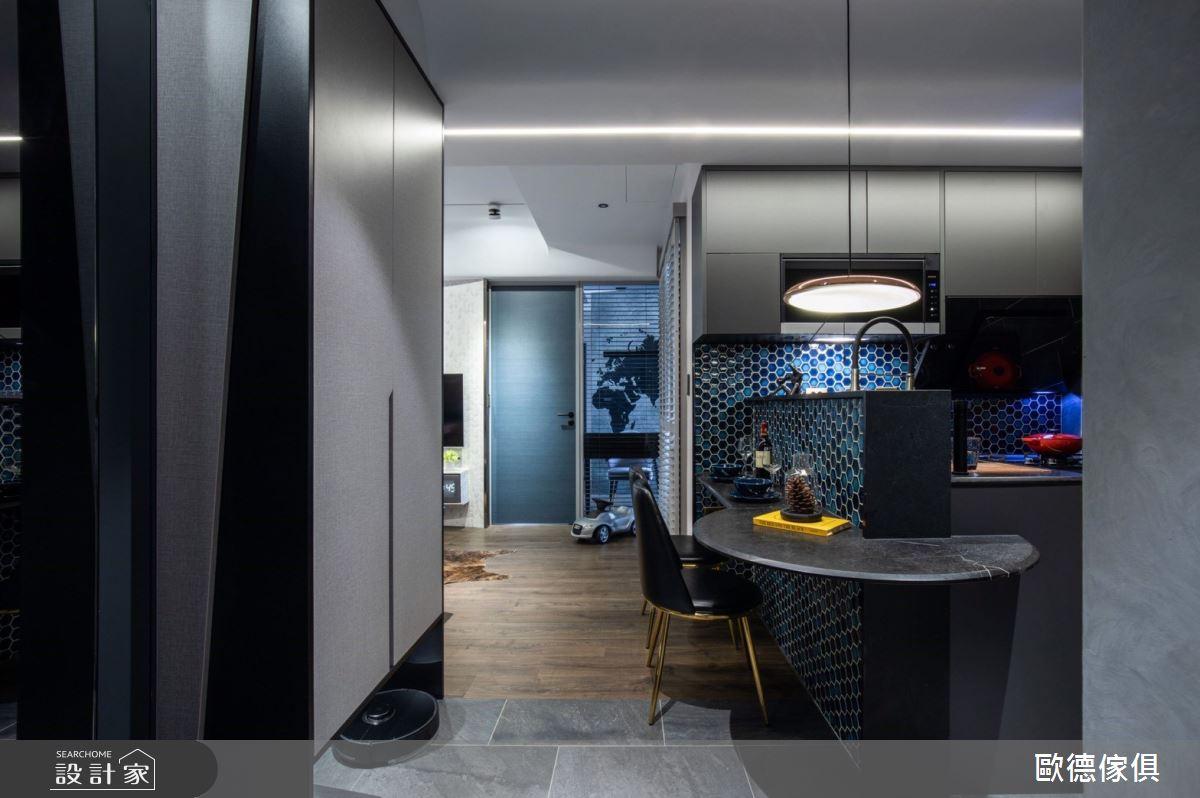 20坪新成屋(5年以下)_現代風餐廳案例圖片_台灣歐德傢俱股份有限公司_歐德_104之13