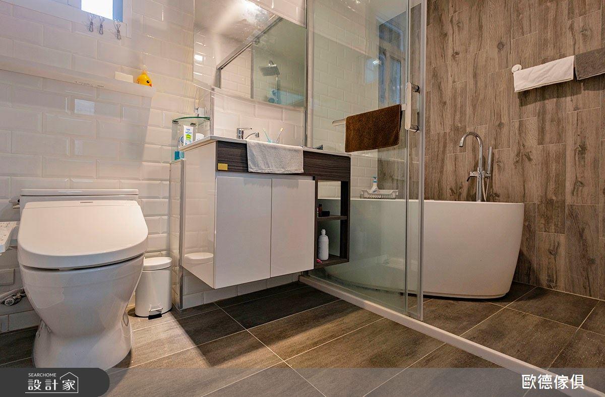 35坪老屋(31~40年)_鄉村風浴室案例圖片_台灣歐德傢俱股份有限公司_歐德_105之10