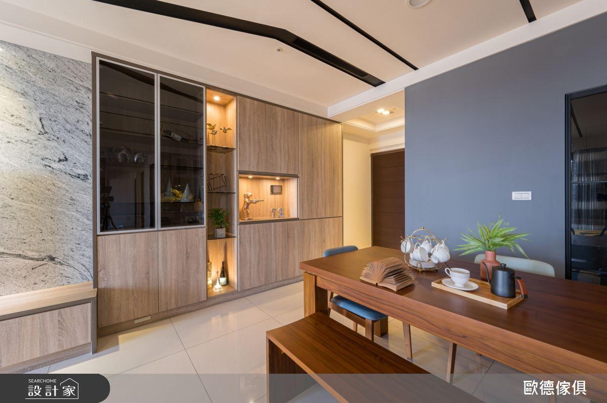 60坪新成屋(5年以下)_現代風餐廳案例圖片_台灣歐德傢俱股份有限公司_歐德_106之2