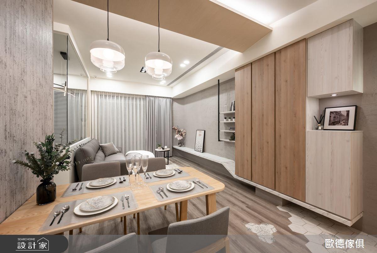 25坪新成屋(5年以下)_混搭風餐廳案例圖片_台灣歐德傢俱股份有限公司_歐德_107之2