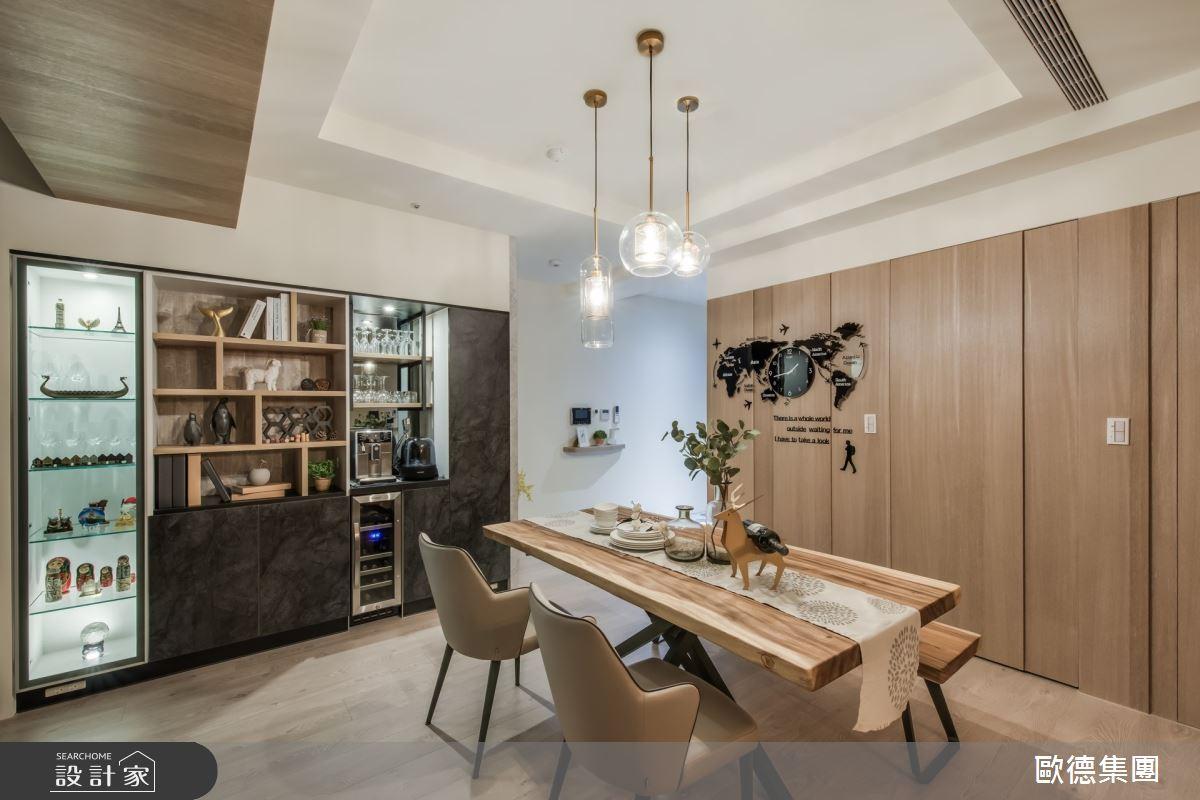 35坪新成屋(5年以下)_現代風餐廳案例圖片_台灣歐德傢俱股份有限公司_歐德_116之6