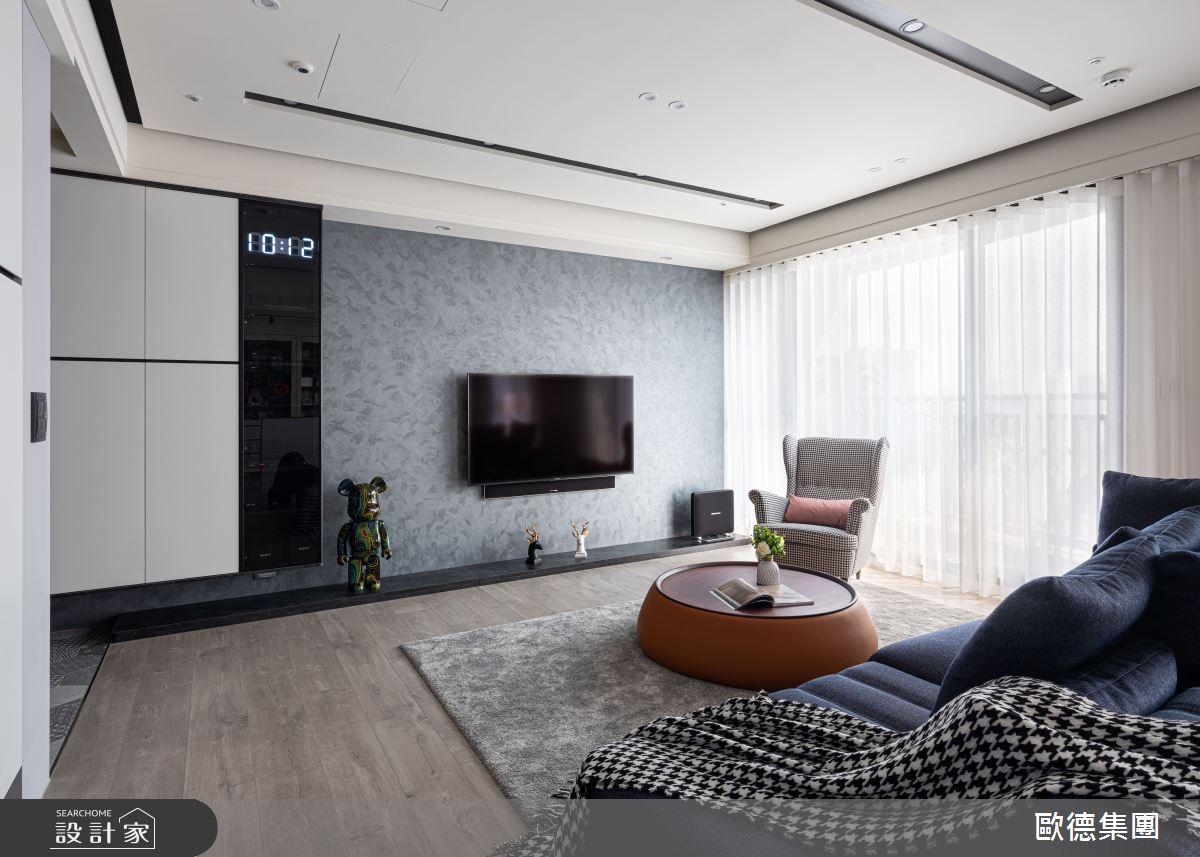40坪新成屋(5年以下)_混搭風客廳案例圖片_台灣歐德傢俱股份有限公司_歐德_117之4