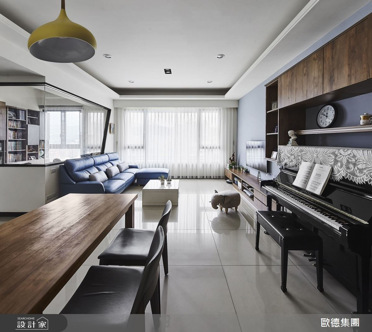 33坪新成屋(5年以下)_現代風餐廳案例圖片_台灣歐德傢俱股份有限公司_歐德_120之2
