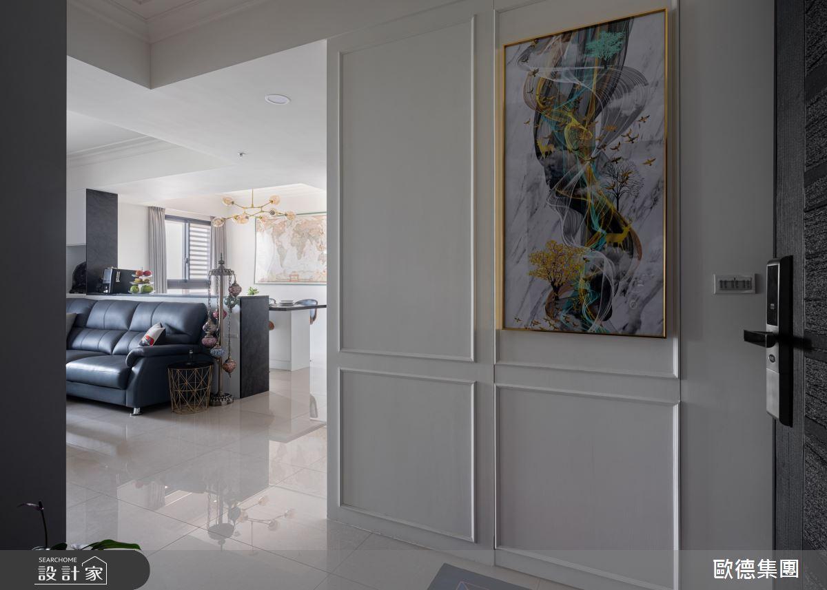 45坪新成屋(5年以下)_美式風案例圖片_台灣歐德傢俱股份有限公司_歐德_134之2