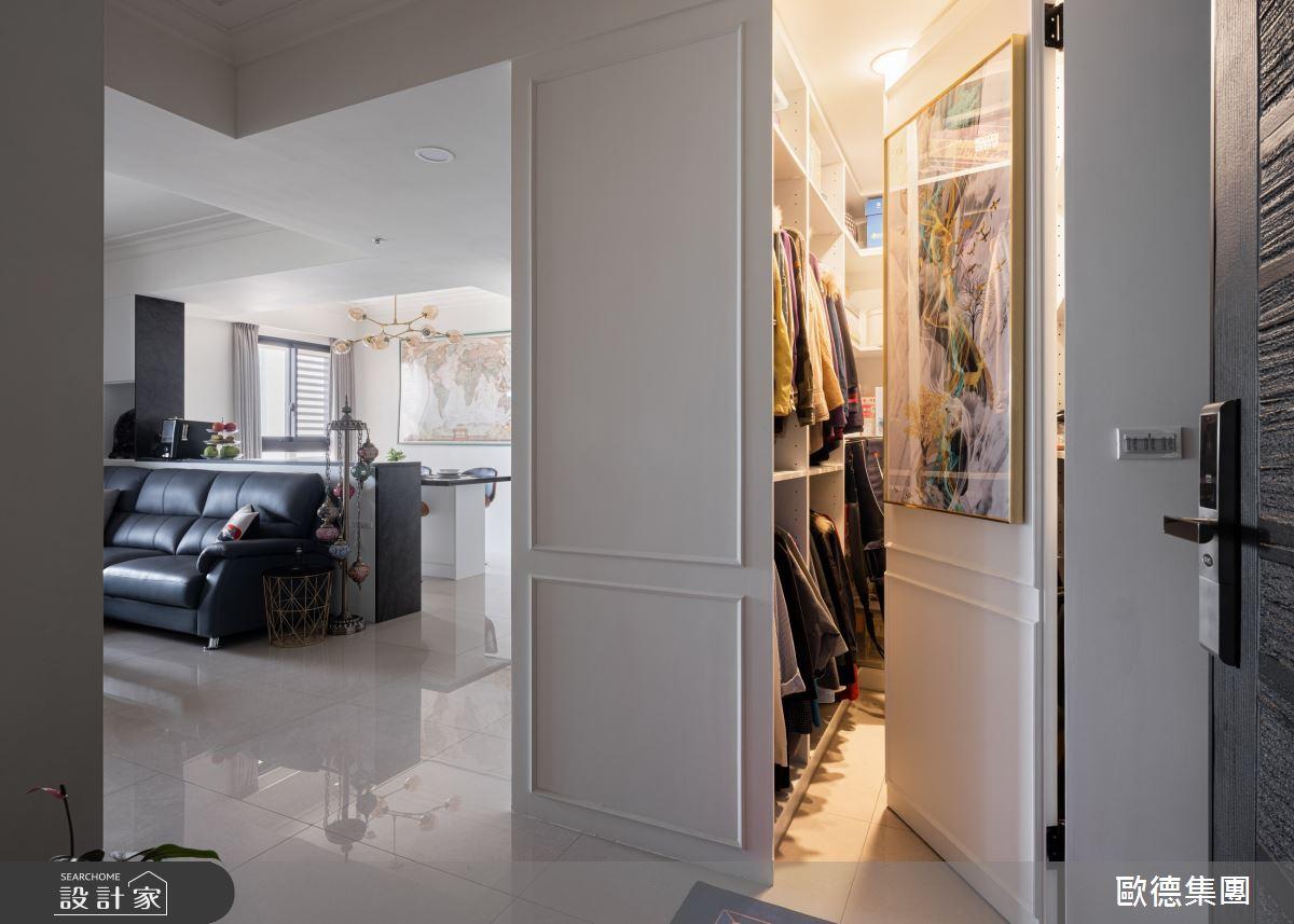 45坪新成屋(5年以下)_美式風案例圖片_台灣歐德傢俱股份有限公司_歐德_134之3