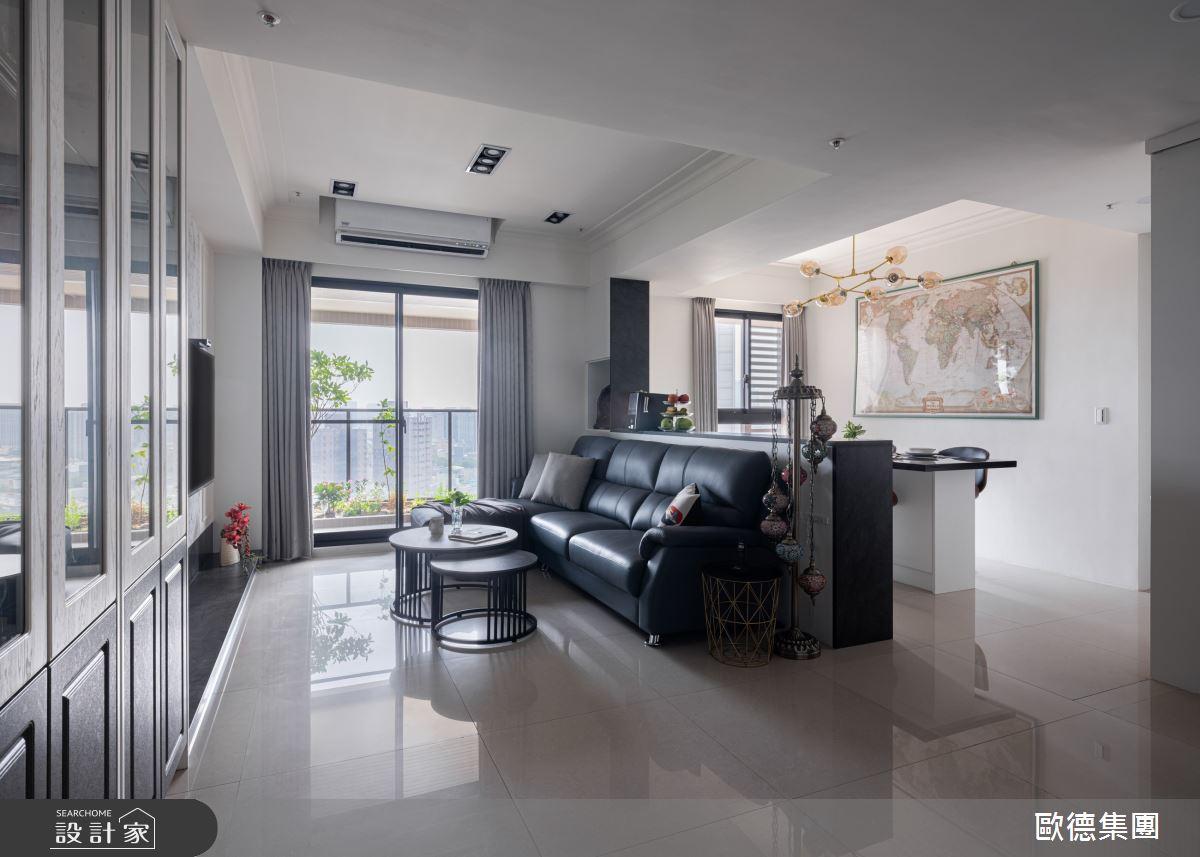 45坪新成屋(5年以下)_美式風案例圖片_台灣歐德傢俱股份有限公司_歐德_134之5