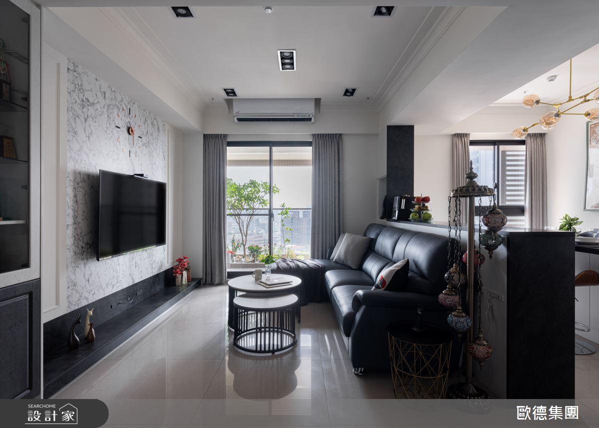 45坪新成屋(5年以下)_美式風案例圖片_台灣歐德傢俱股份有限公司_歐德_134之6