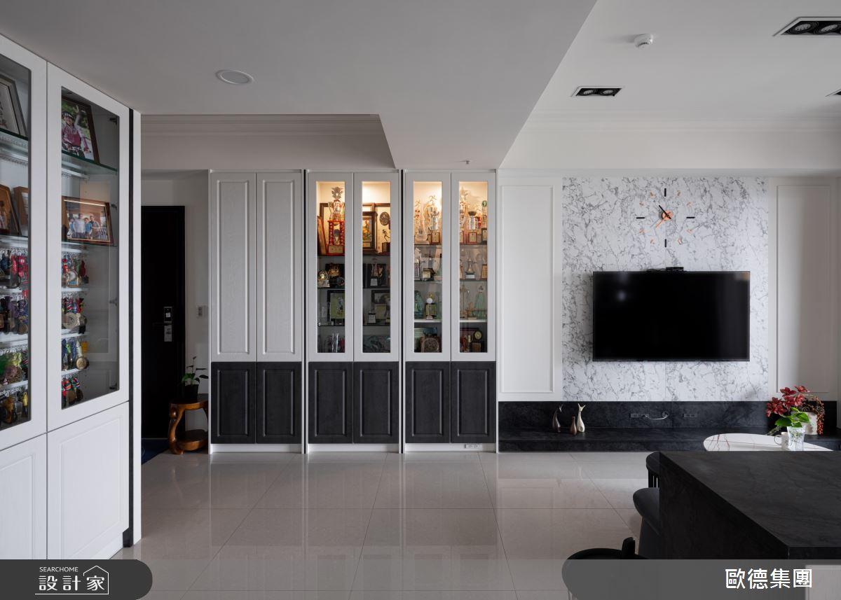 45坪新成屋(5年以下)_美式風案例圖片_台灣歐德傢俱股份有限公司_歐德_134之4