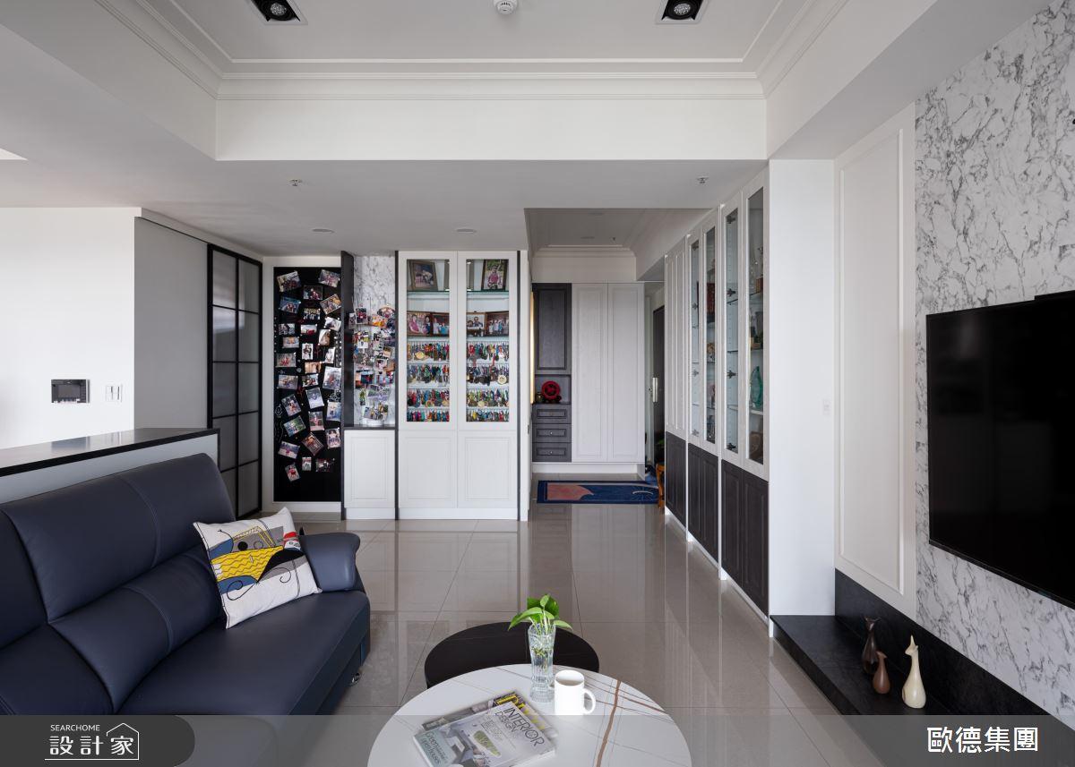 45坪新成屋(5年以下)_美式風案例圖片_台灣歐德傢俱股份有限公司_歐德_134之7