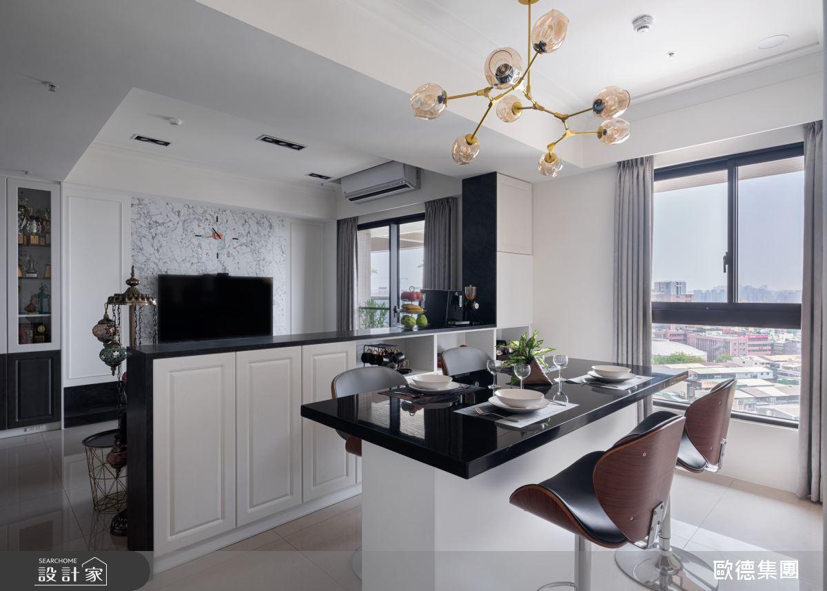 45坪新成屋(5年以下)_美式風案例圖片_台灣歐德傢俱股份有限公司_歐德_134之8