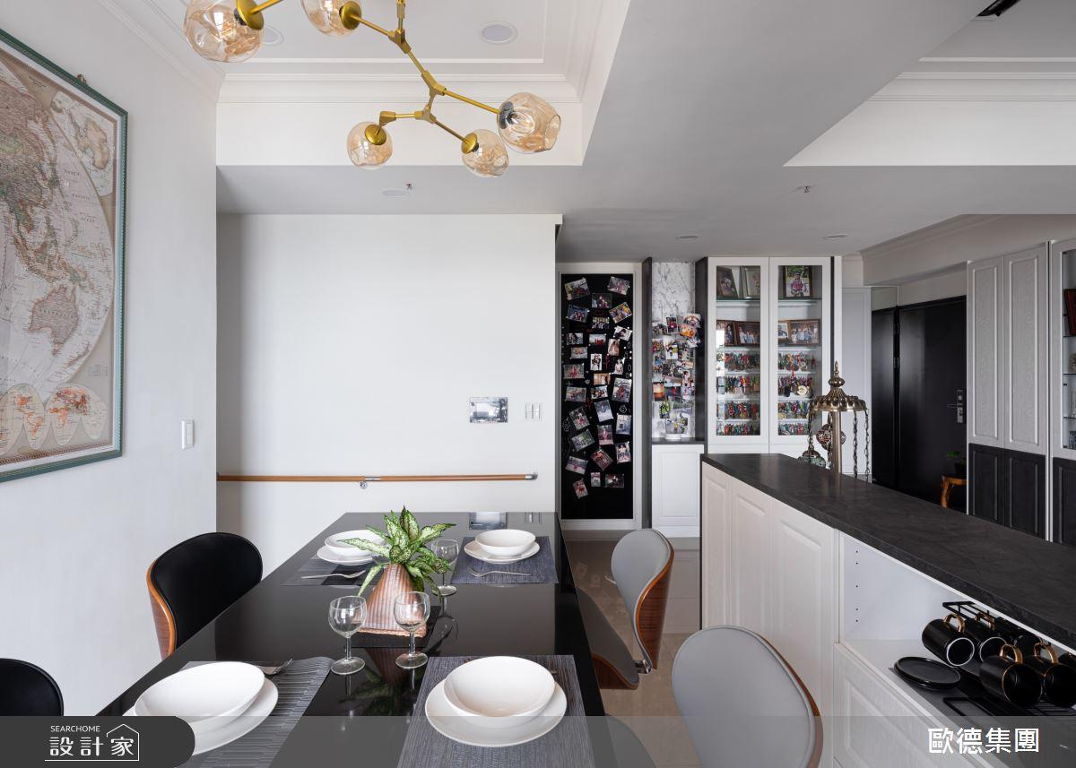 45坪新成屋(5年以下)_美式風案例圖片_台灣歐德傢俱股份有限公司_歐德_134之9