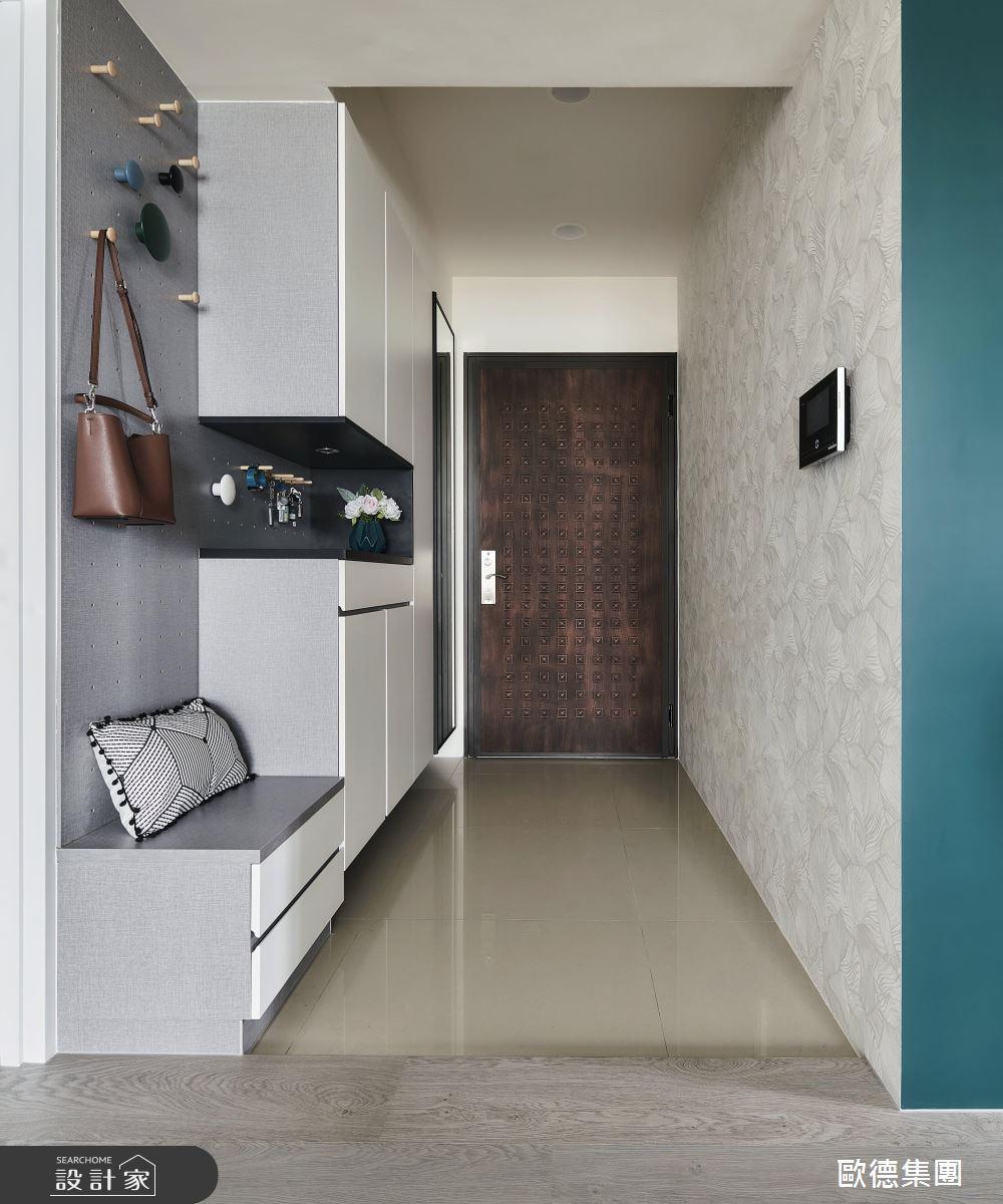 25坪新成屋(5年以下)_混搭風案例圖片_台灣歐德傢俱股份有限公司_歐德_135之3