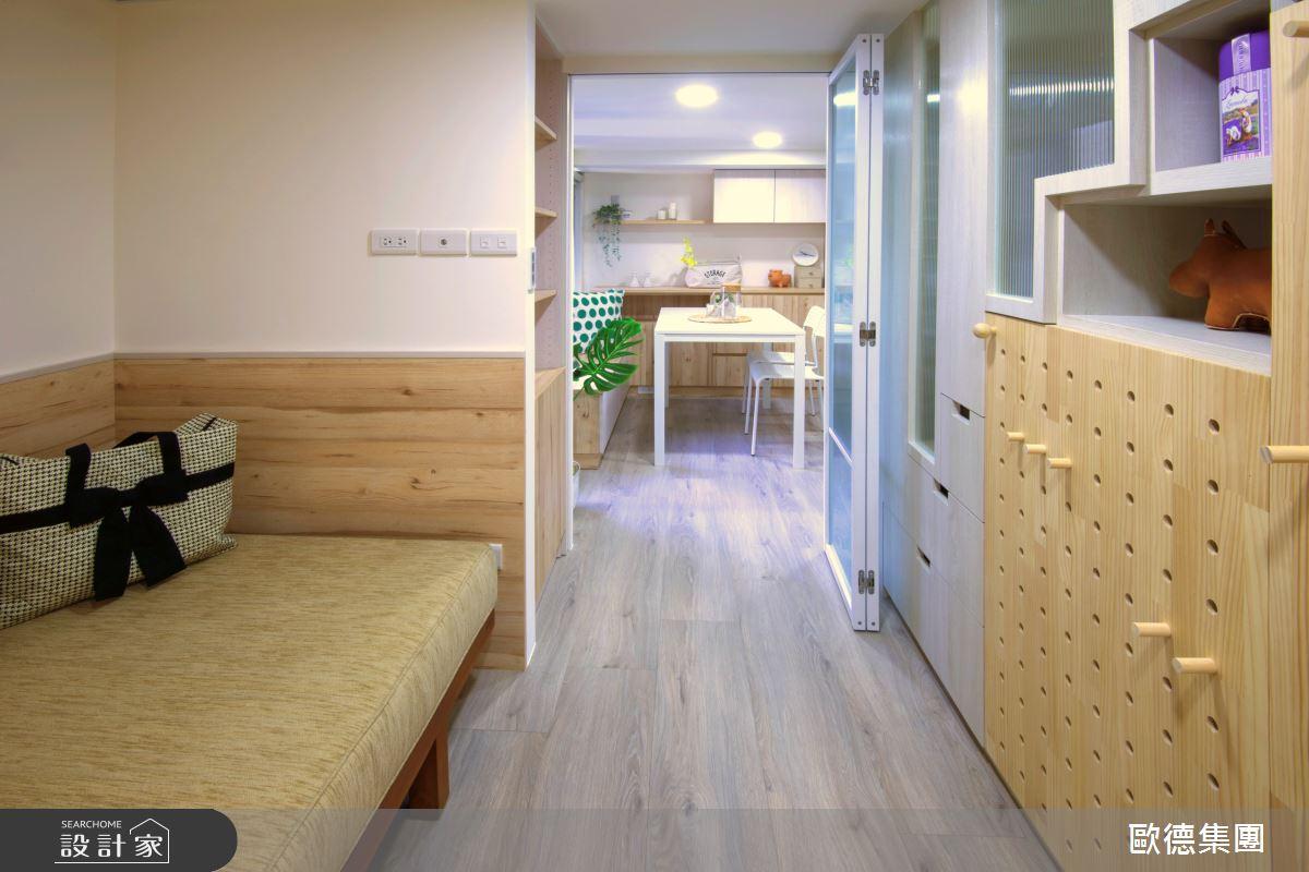 18坪新成屋(5年以下)_休閒風案例圖片_台灣歐德傢俱股份有限公司_歐德_137之7