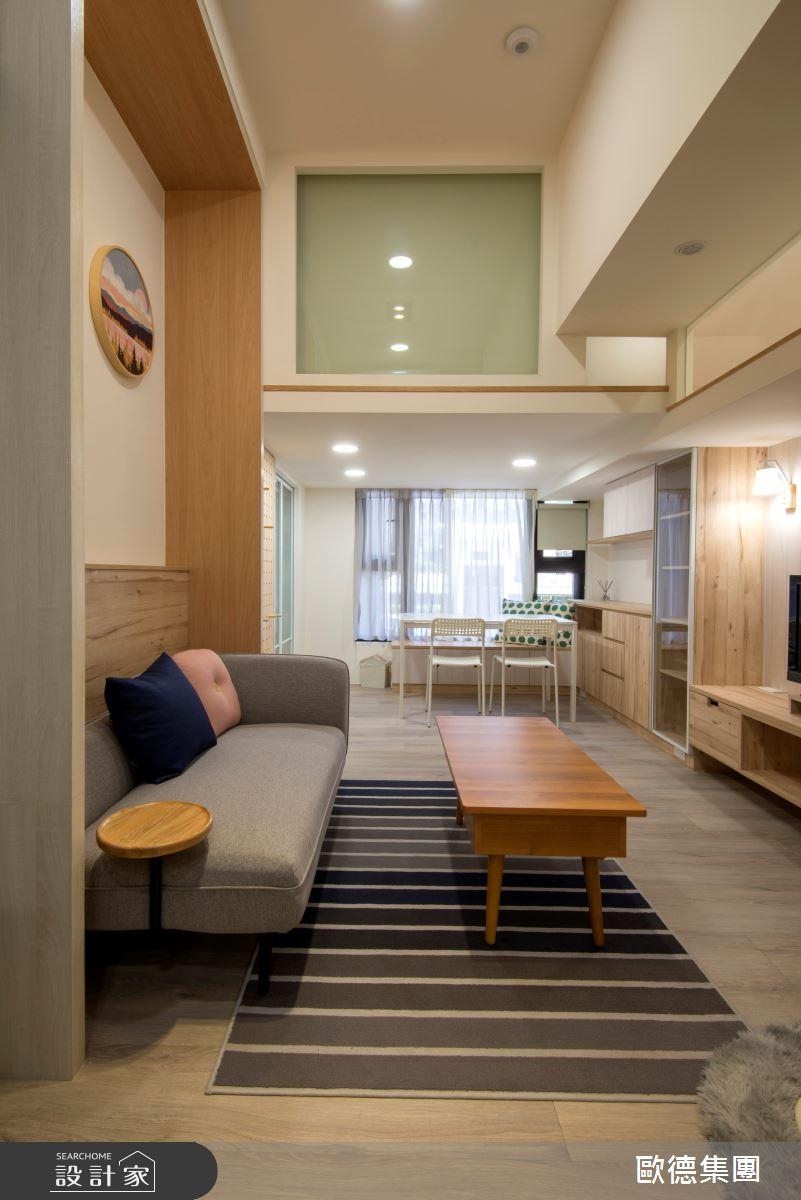 18坪新成屋(5年以下)_休閒風案例圖片_台灣歐德傢俱股份有限公司_歐德_137之5