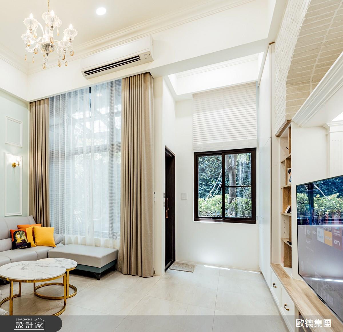100坪新成屋(5年以下)_美式風案例圖片_台灣歐德傢俱股份有限公司_歐德_140之1