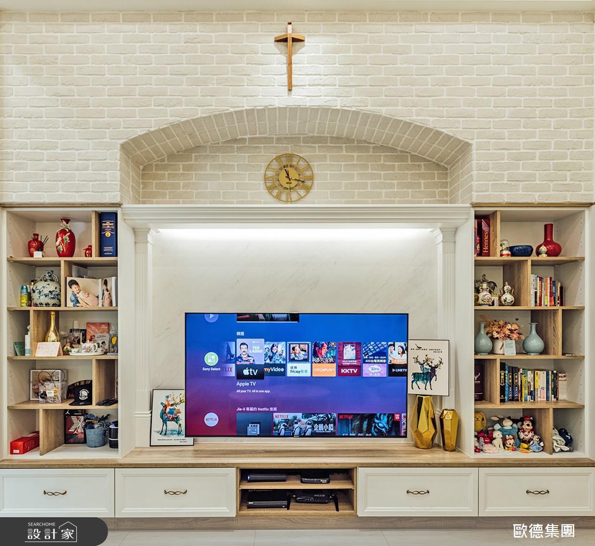 100坪新成屋(5年以下)_美式風案例圖片_台灣歐德傢俱股份有限公司_歐德_140之4