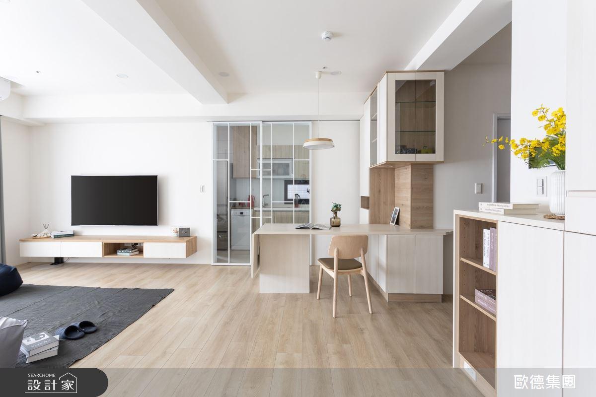 25坪新成屋(5年以下)_簡約風案例圖片_台灣歐德傢俱股份有限公司_歐德_141之3
