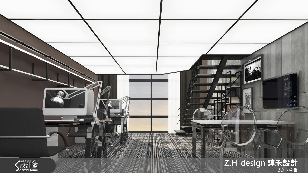 26坪新成屋(5年以下)_工業風案例圖片_Z.H design 諄禾設計_諄禾_06之2