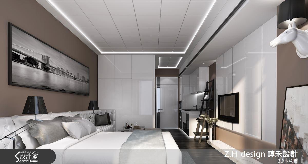 13坪新成屋(5年以下)_奢華風案例圖片_Z.H design 諄禾設計_諄禾_08之1