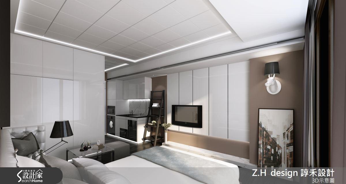 13坪新成屋(5年以下)_奢華風案例圖片_Z.H design 諄禾設計_諄禾_08之2