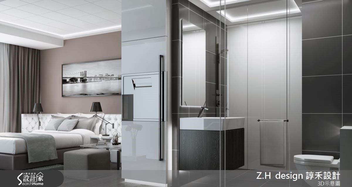 13坪新成屋(5年以下)_奢華風案例圖片_Z.H design 諄禾設計_諄禾_08之4