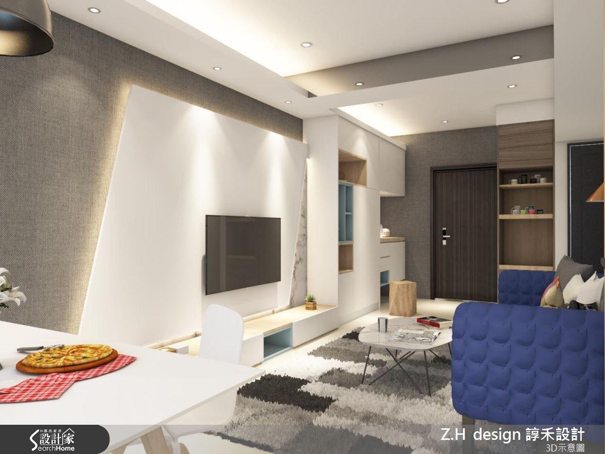 20坪新成屋(5年以下)_北歐風案例圖片_Z.H design 諄禾設計_諄禾_11之2