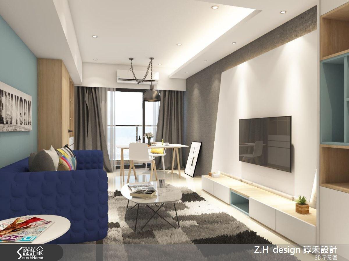 20坪新成屋(5年以下)_北歐風案例圖片_Z.H design 諄禾設計_諄禾_11之3