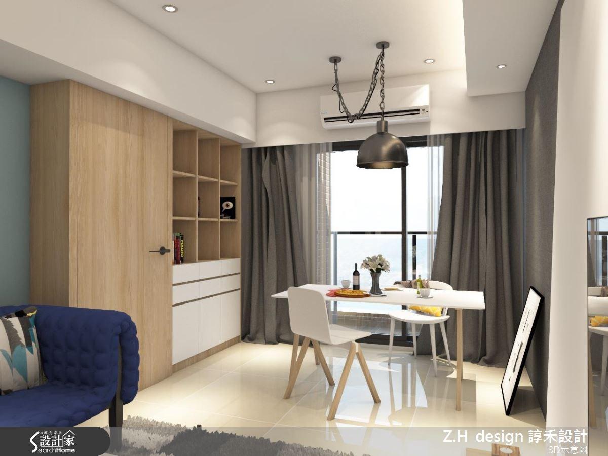 20坪新成屋(5年以下)_北歐風案例圖片_Z.H design 諄禾設計_諄禾_11之4