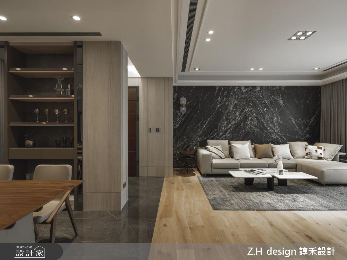 原木與石材調和自然溫度 展示收納讓家多了人文藝術氣息