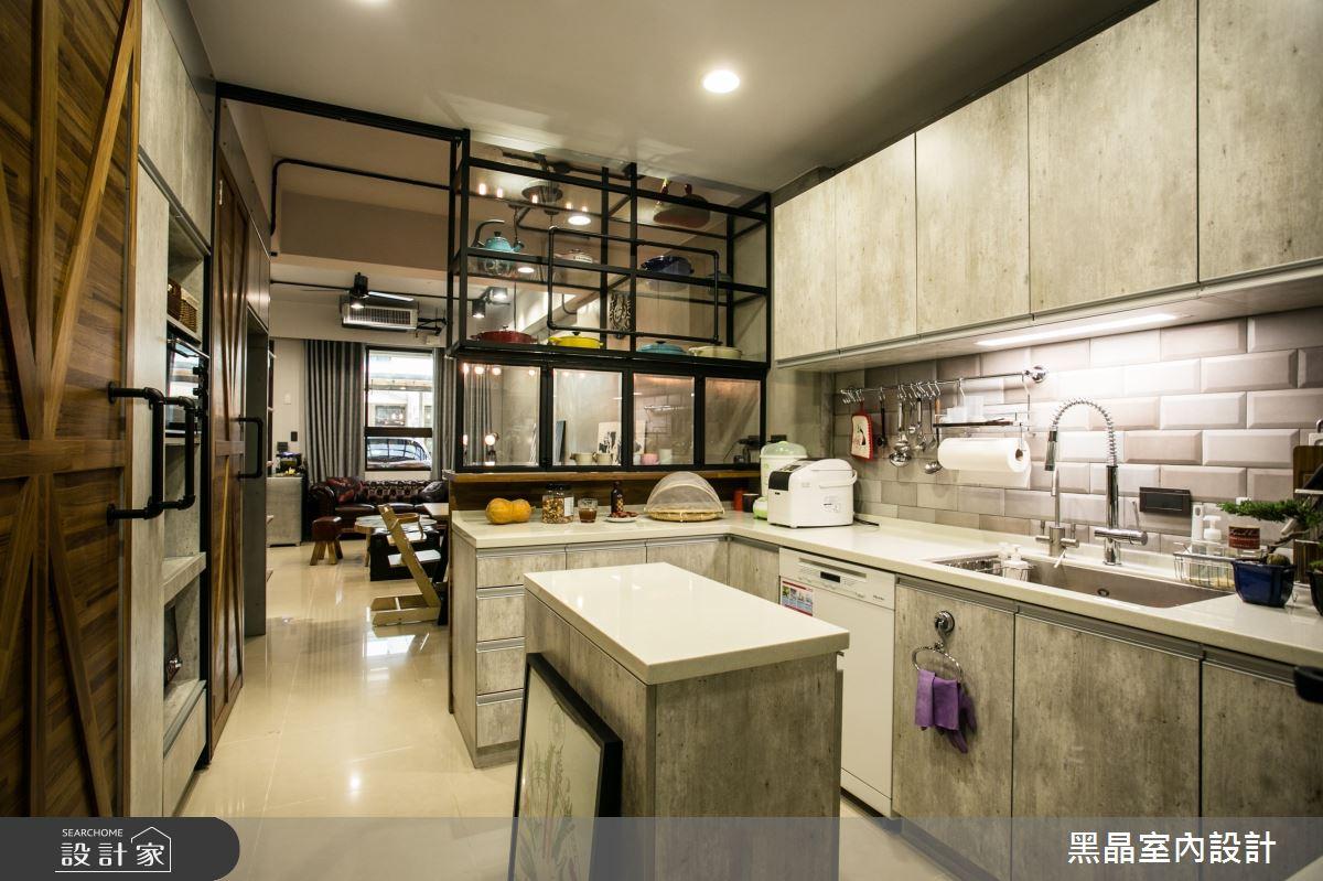 64坪新成屋(5年以下)_工業風案例圖片_黑晶室內設計_黑晶_01之4