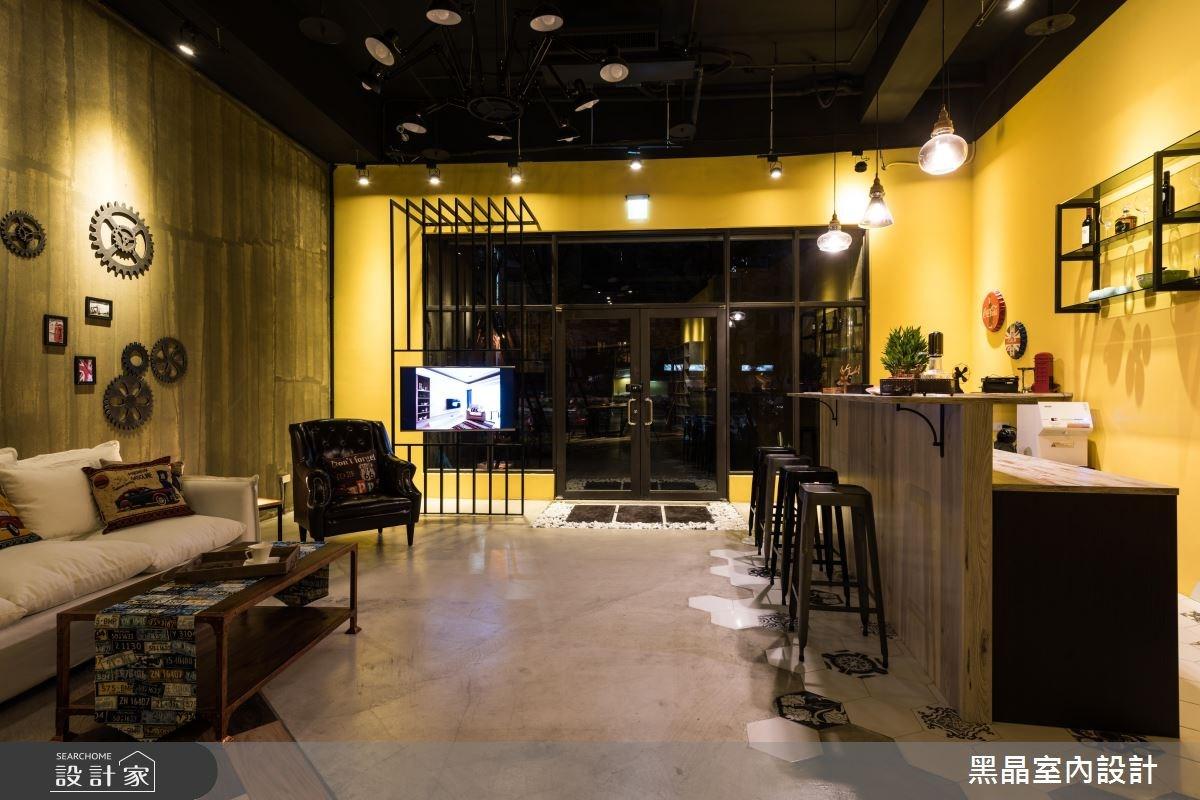 35坪新成屋(5年以下)_工業風案例圖片_黑晶室內設計_黑晶_03之4