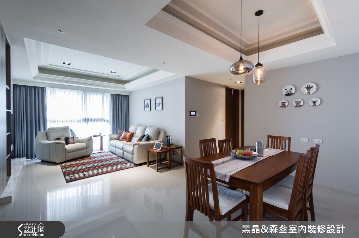 祖孫同樂住 28坪古典與現代混搭宅