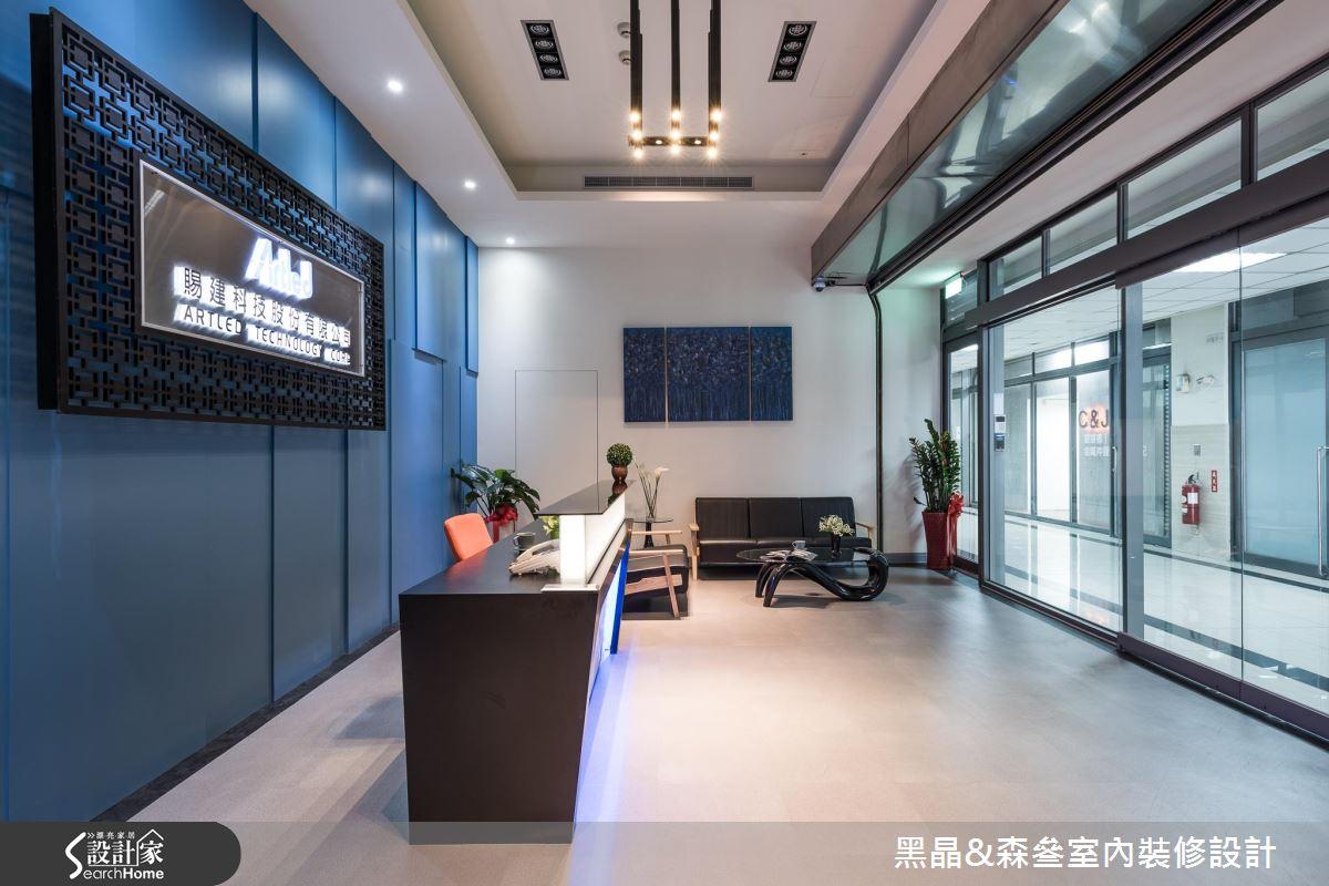 人文藝術環繞X LED燈展演! 顛覆想像的辦公空間