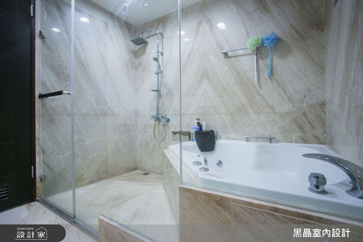 100坪新成屋(5年以下)_新古典浴室案例圖片_黑晶室內設計_黑晶_13之29