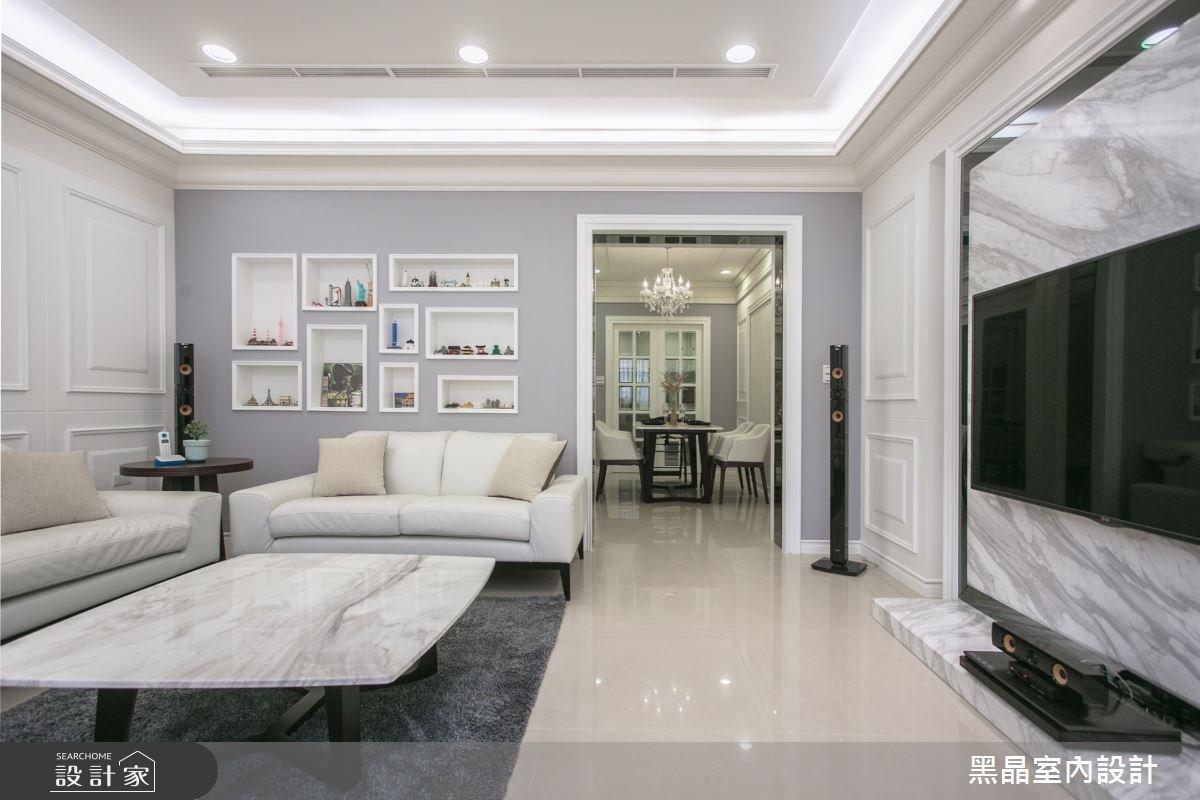 100坪新成屋(5年以下)_新古典案例圖片_黑晶室內設計_黑晶_13之2