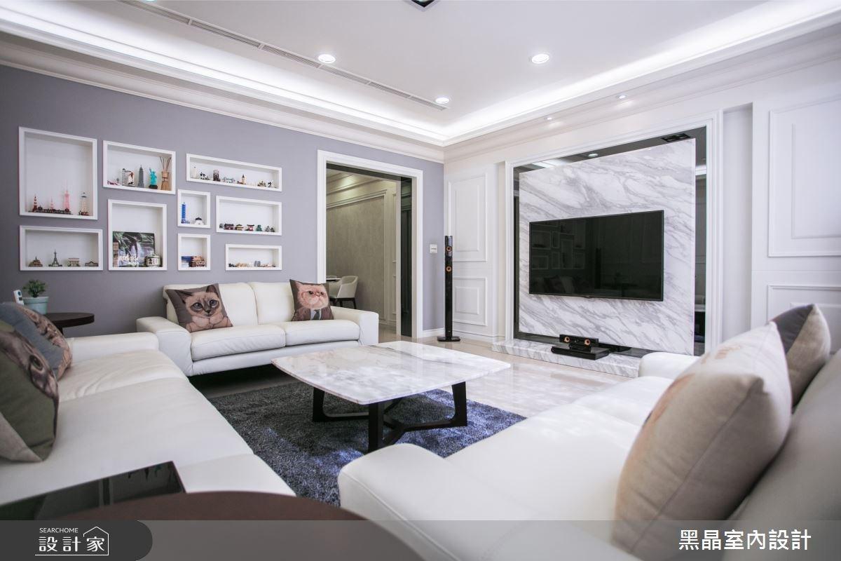 100坪新成屋(5年以下)_新古典案例圖片_黑晶室內設計_黑晶_13之1