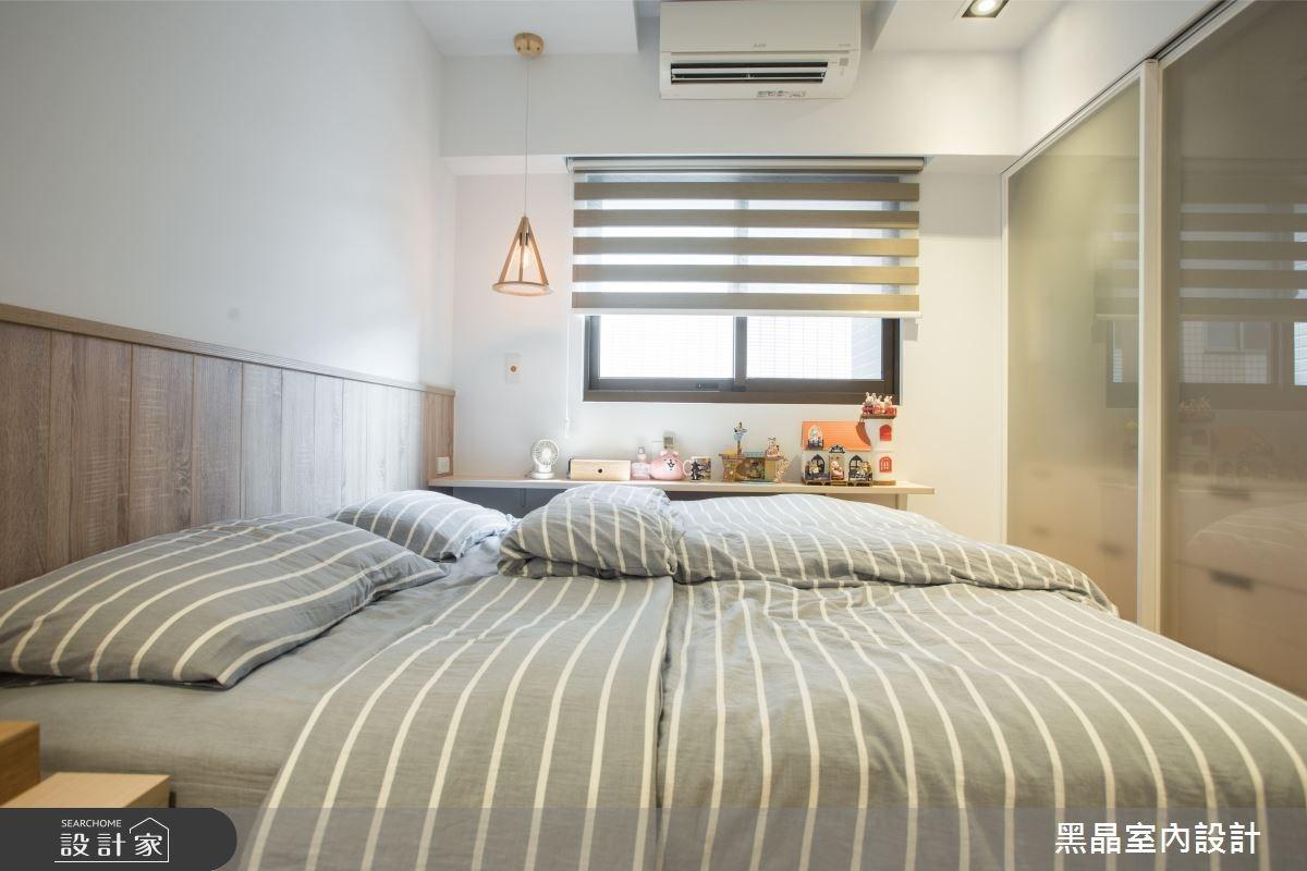 25坪新成屋(5年以下)_混搭風臥室案例圖片_黑晶室內設計_黑晶_14之10