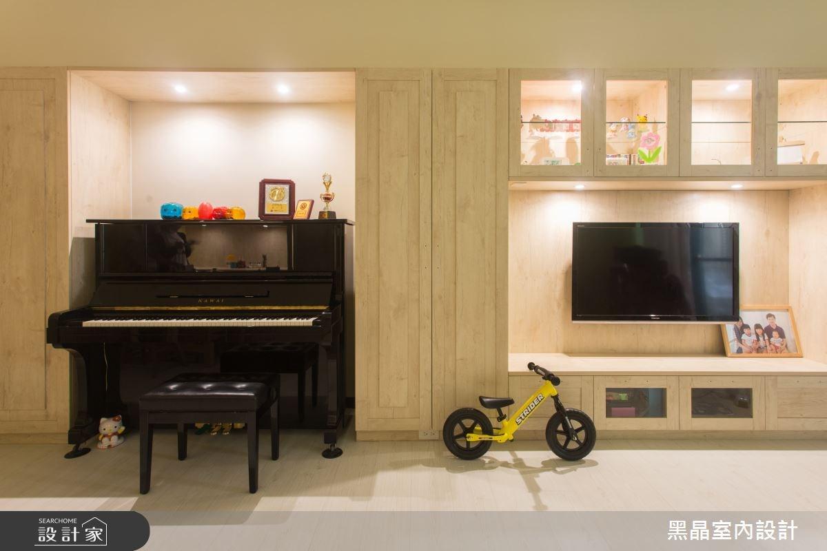 27坪中古屋(5~15年)_療癒風客廳案例圖片_黑晶室內設計_黑晶_17之6