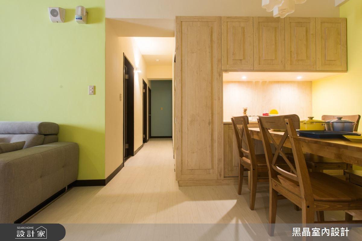 27坪中古屋(5~15年)_療癒風餐廳案例圖片_黑晶室內設計_黑晶_17之3