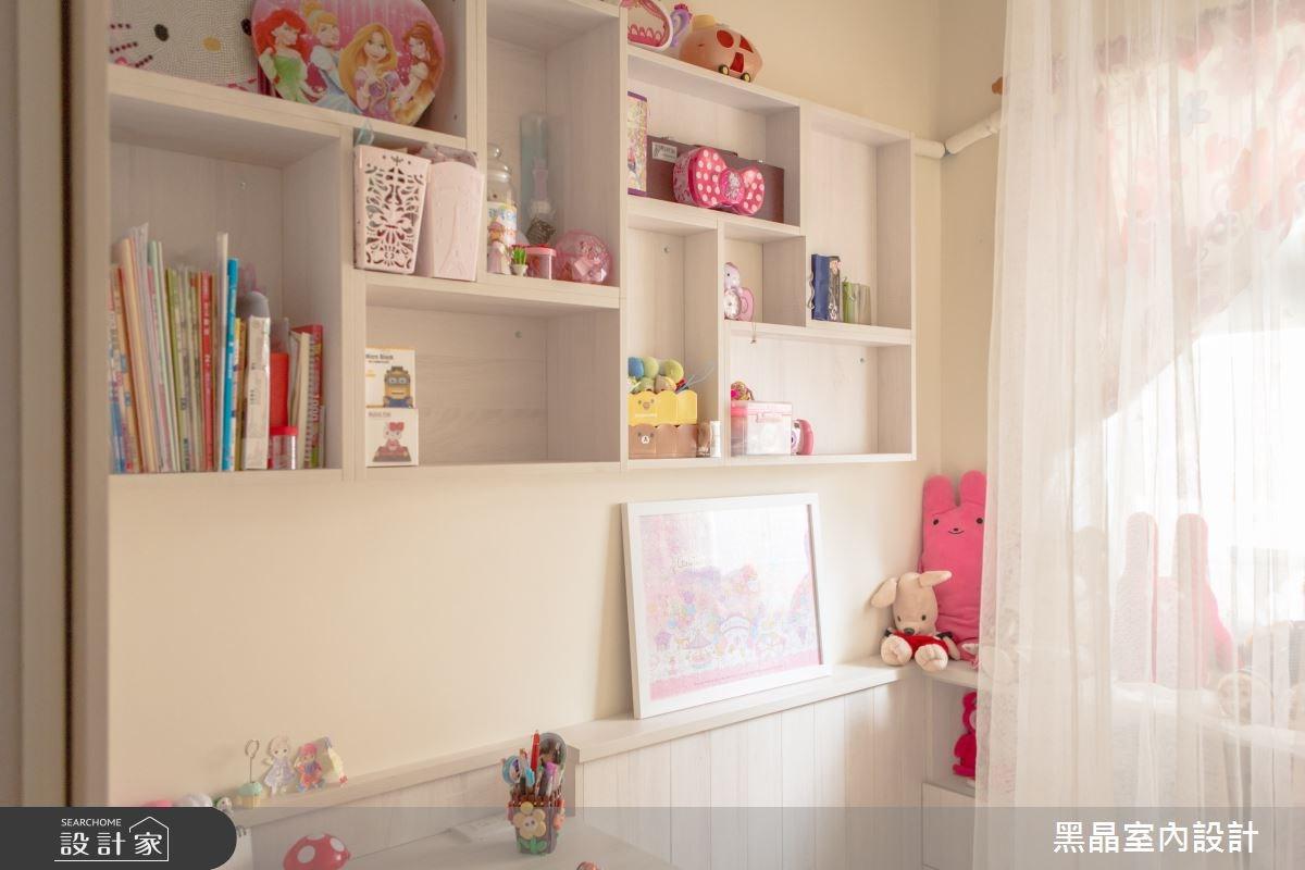 27坪中古屋(5~15年)_療癒風兒童房兒童房案例圖片_黑晶室內設計_黑晶_17之9