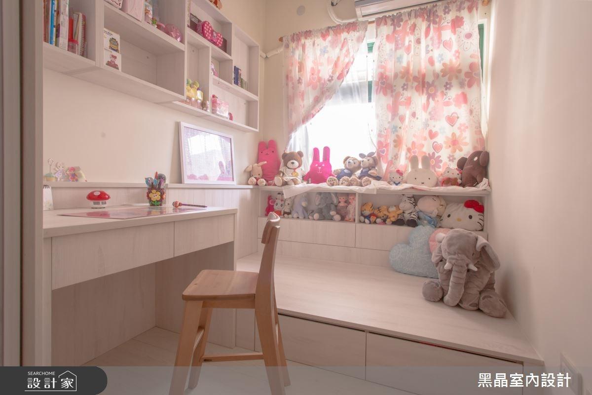 27坪中古屋(5~15年)_療癒風兒童房兒童房案例圖片_黑晶室內設計_黑晶_17之11