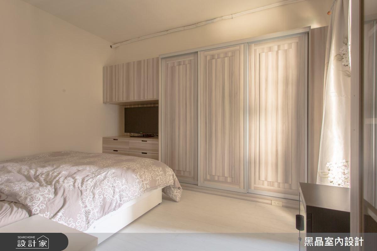 27坪中古屋(5~15年)_療癒風臥室案例圖片_黑晶室內設計_黑晶_17之14