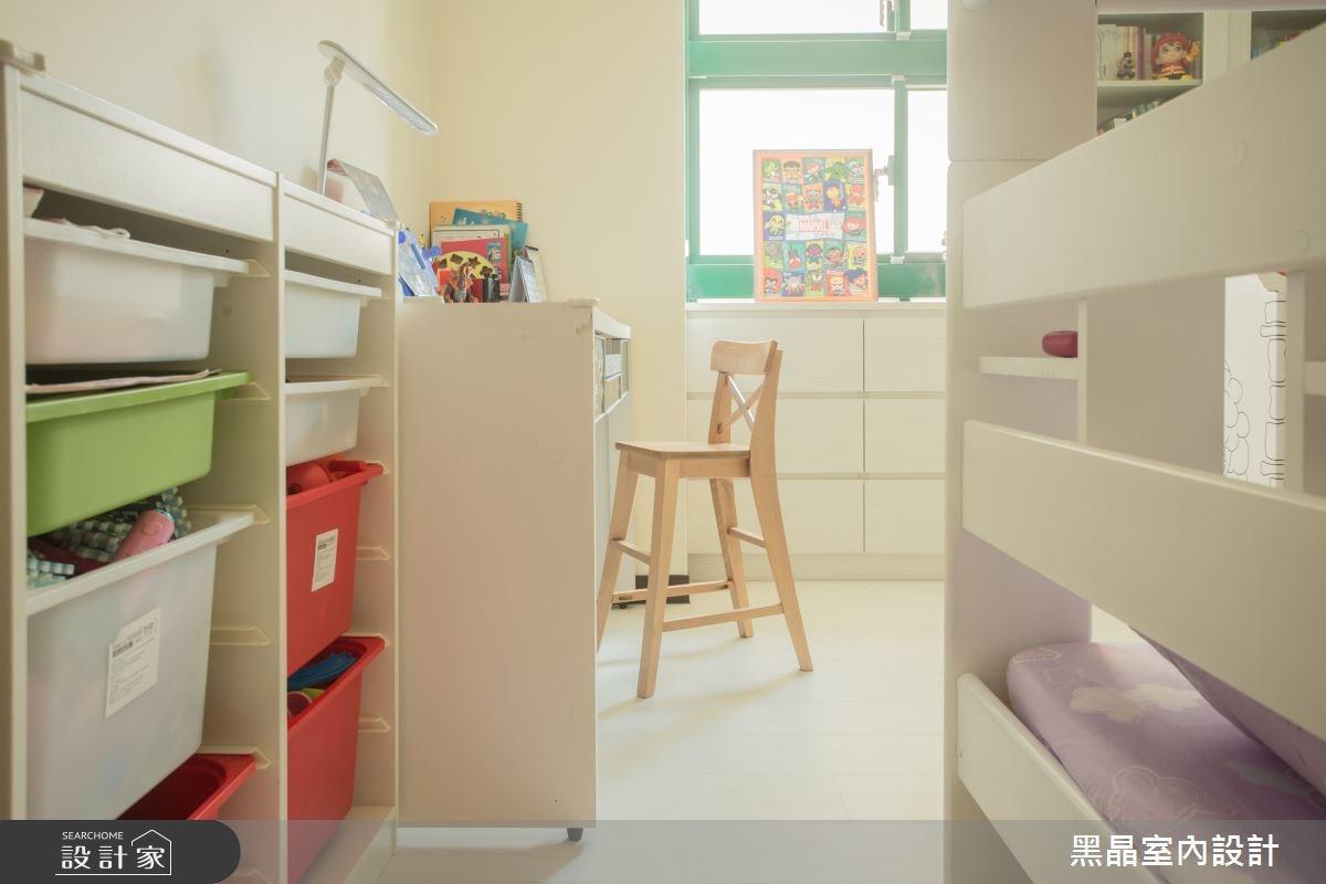 27坪中古屋(5~15年)_療癒風兒童房兒童房案例圖片_黑晶室內設計_黑晶_17之15
