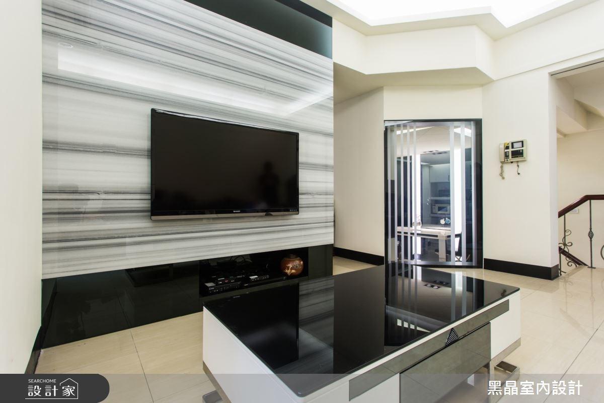80坪中古屋(5~15年)_工業風客廳案例圖片_黑晶室內設計_黑晶_18之3