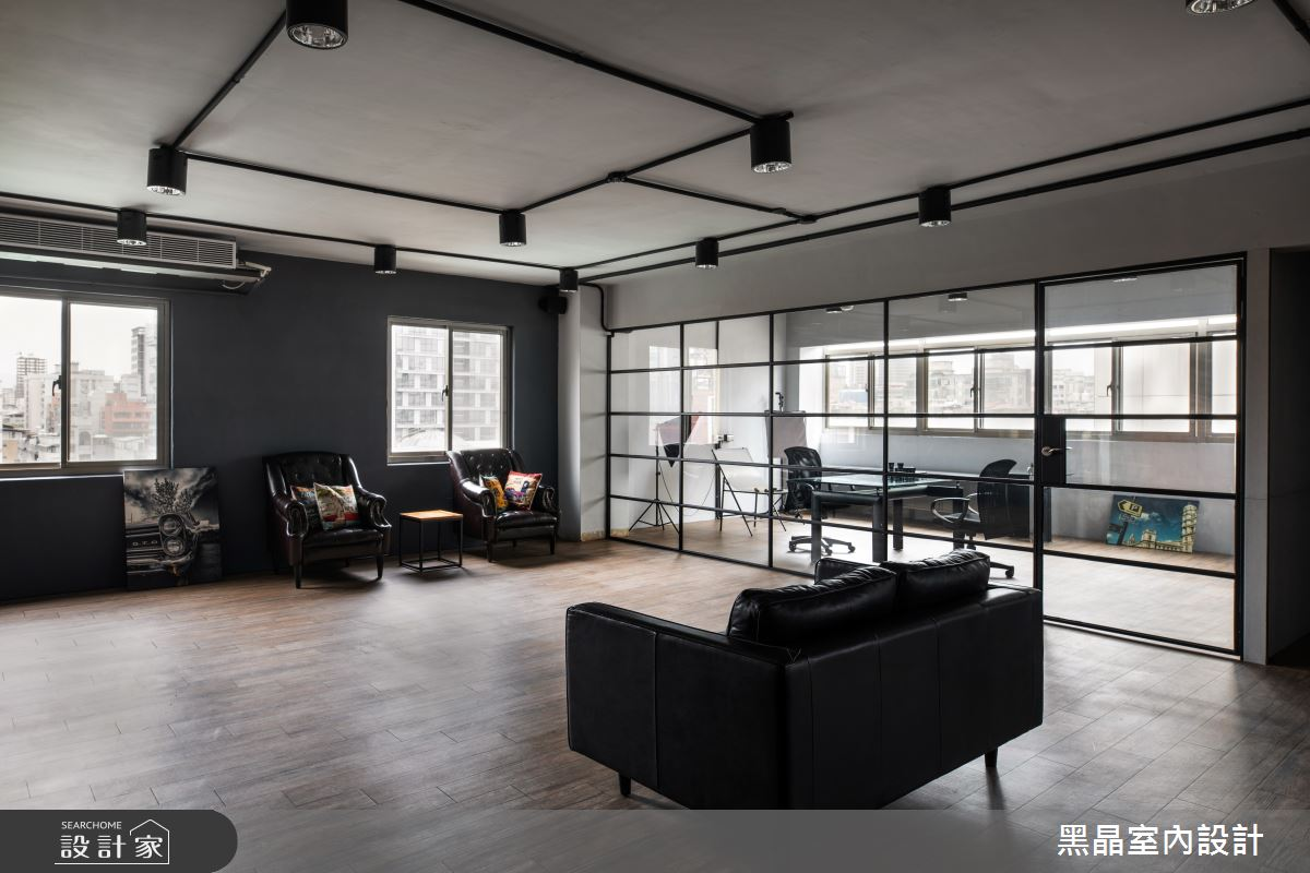 120坪老屋(31~40年)_工業風商業空間案例圖片_黑晶室內設計_黑晶_22之3