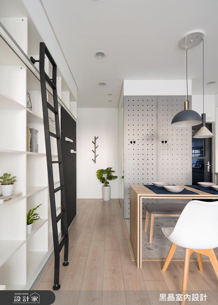 18坪新成屋(5年以下)_北歐風案例圖片_黑晶室內設計_黑晶_25之8